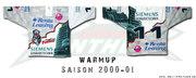 2000-01 warmup