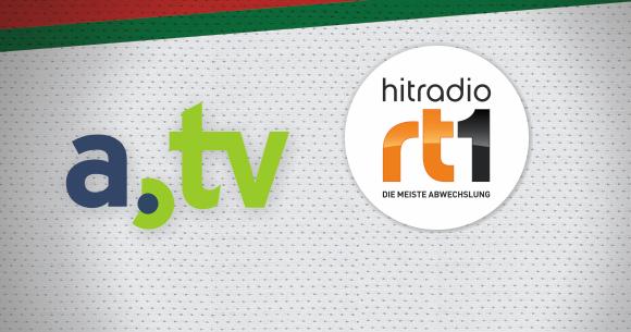 Trikotvorstellung beim Fanmeeting mit den Medienpartnern HITRADIO RT1 und a.tv
