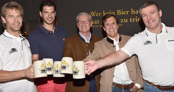 Brauhaus Riegele erweitert das Sponsoring der Augsburger Panther