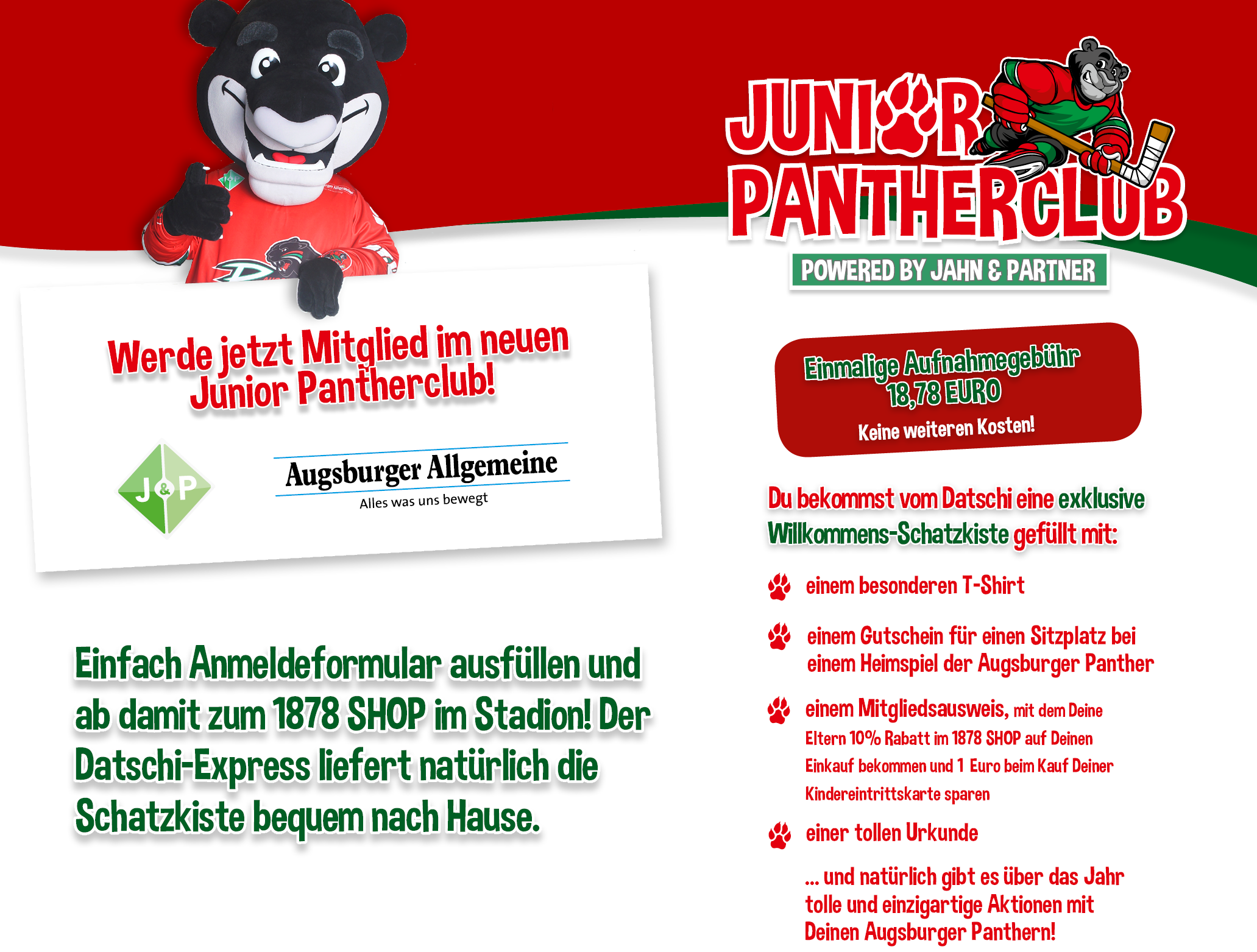 junior pantherclub augsburger panther. Black Bedroom Furniture Sets. Home Design Ideas