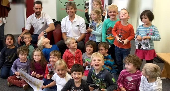 Panther als Glücksfee für Kindergarten-Adventskalender