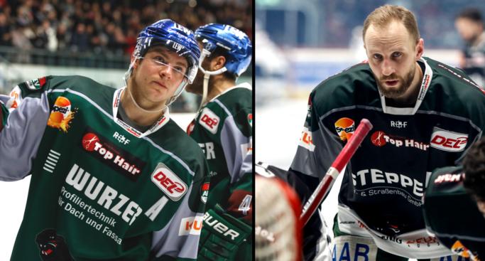 Panther verlängern mit Routiniers Rekis & Polaczek