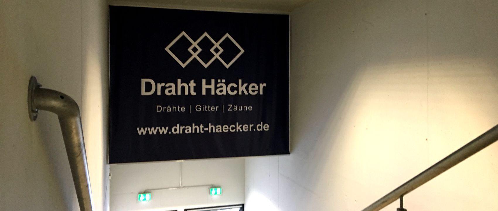 Draht Häcker bleibt Sponsor