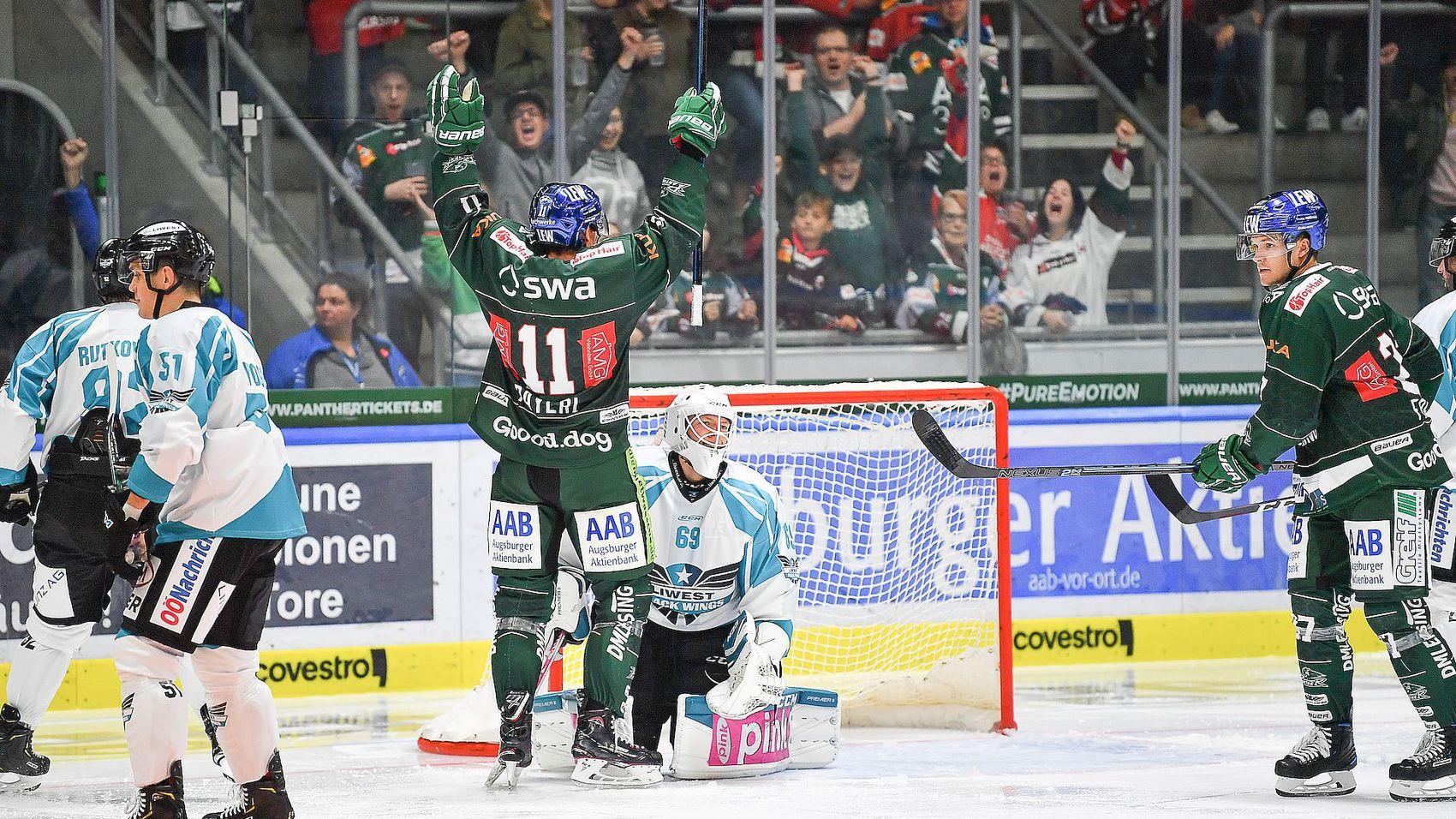 Heimspiel - Panther testen gegen Linz