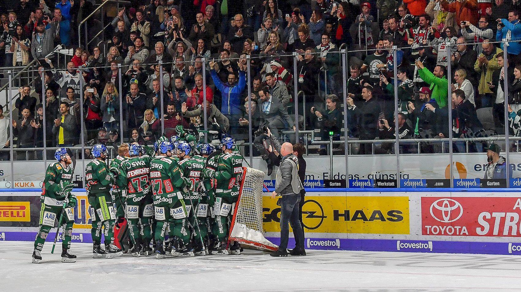 Augsburger Panther sind Mannschaft des Jahres 2019