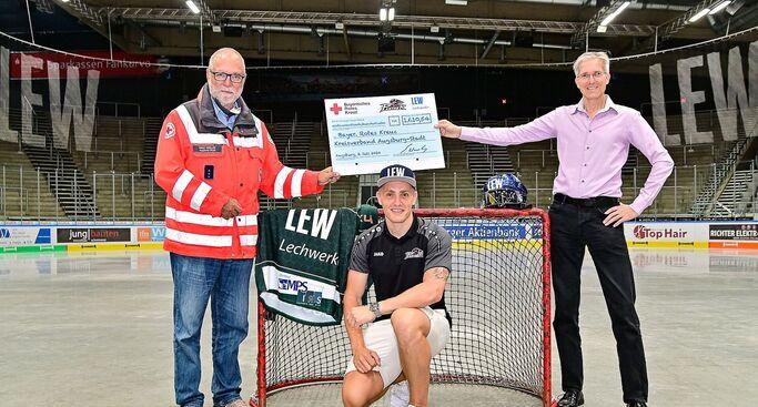 LEW & Panther unterstützen BRK Augsburg-Stadt