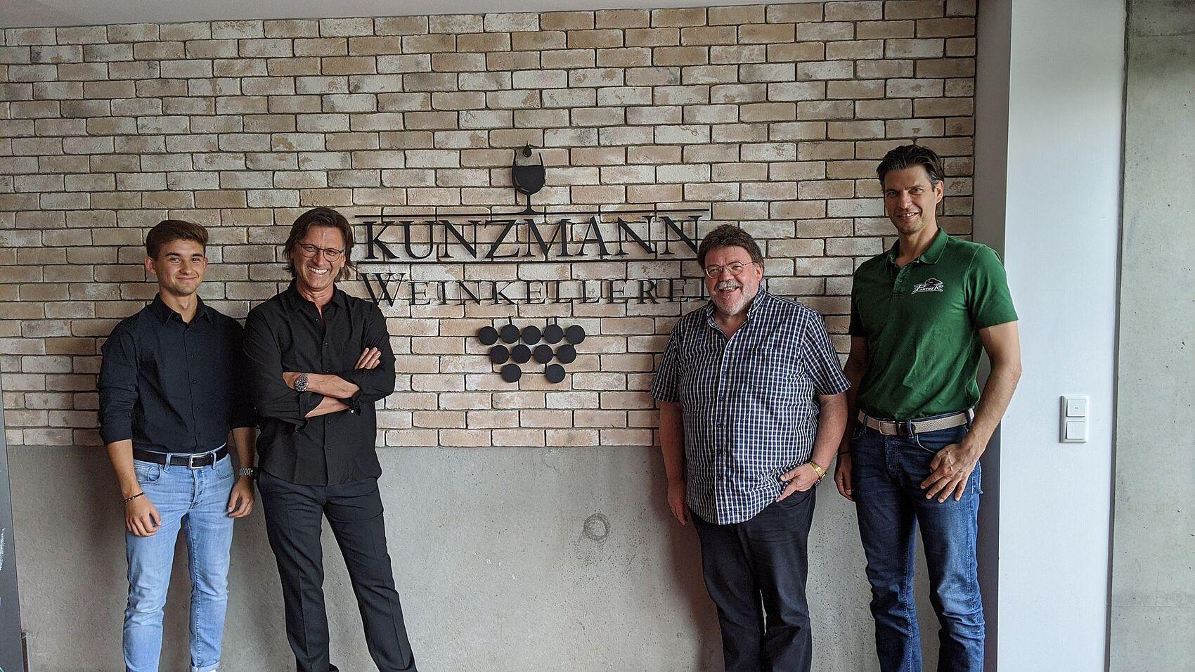Weinkellerei Kunzmann verlängert Vertrag bis 2023
