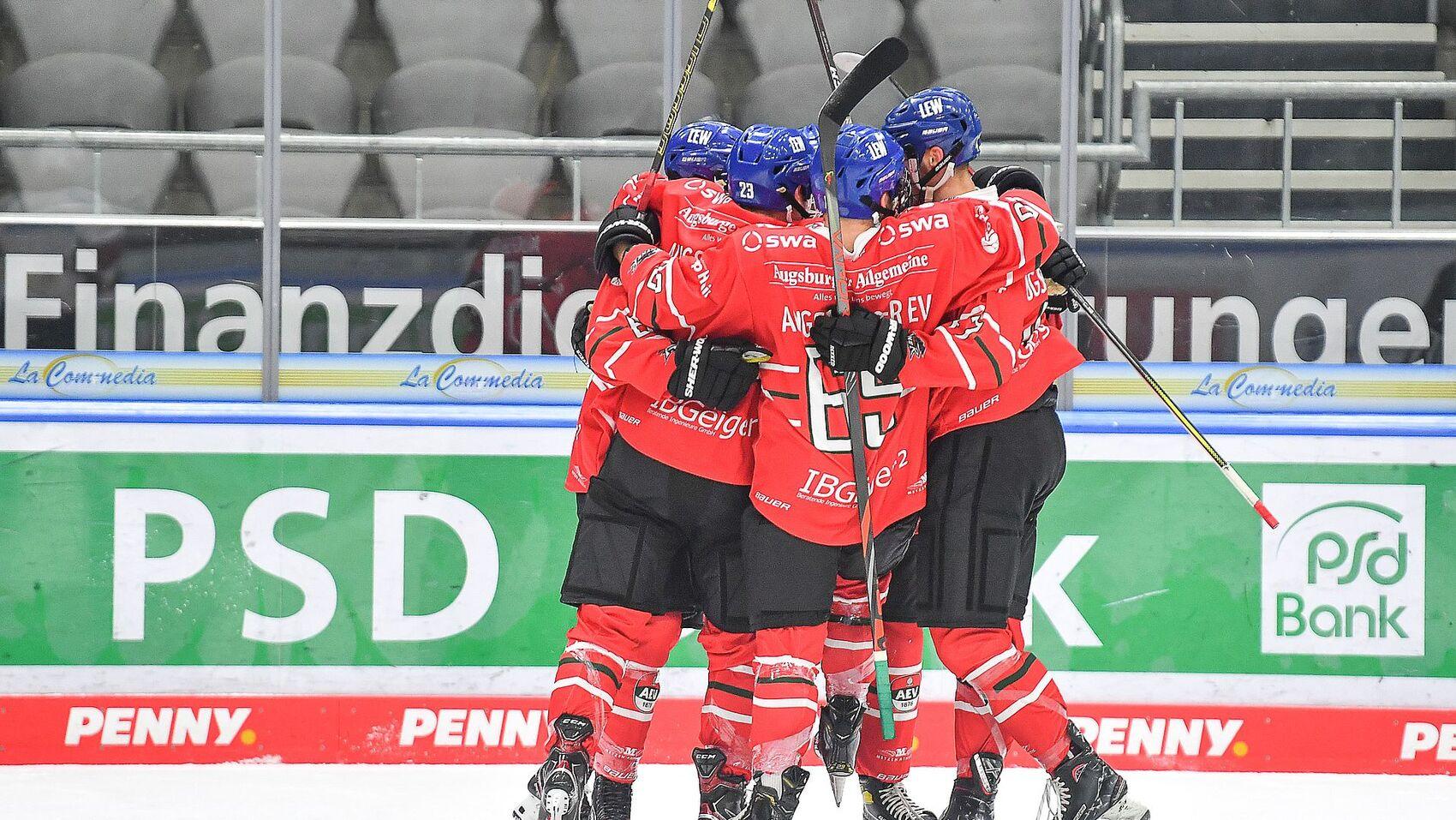 LIVE-Eishockey am Wochenende - Die U20 des AEV im Stream